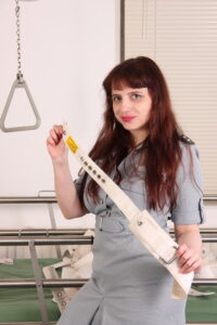 Zara from cuffgirl.com is one of the guards you can choose for your timeout!